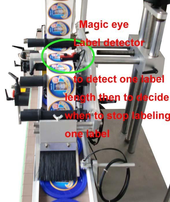 Aplicator de etichetă de suprafață plană Poly Bag Autocolant autocolant personalizat CE