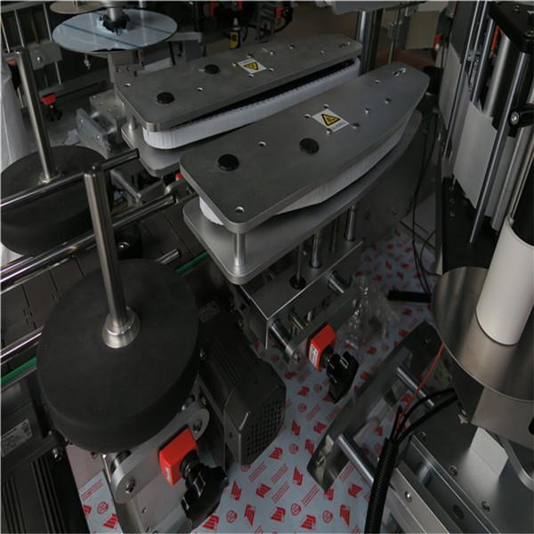 Mașină de etichetare a sticlei rotunde / Aplicator complet automat de etichetă pe suprafață plană