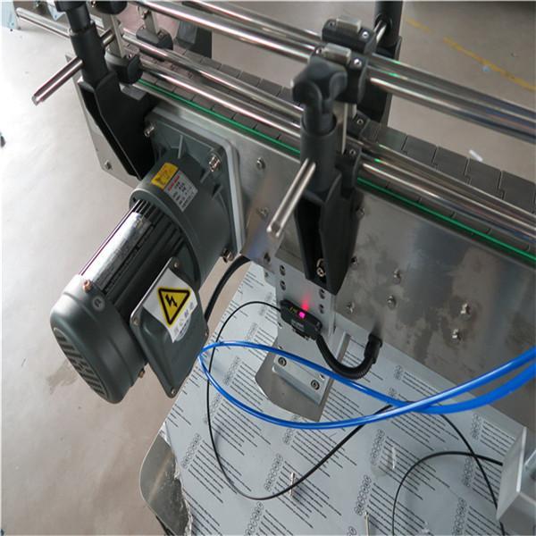 Mașină de etichetare a autocolantului pentru sticlă rotundă cu băuturi / produse chimice zilnice