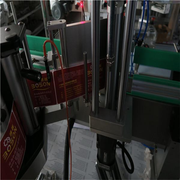 Mașină de etichetare automată CE / Mașină de etichetare sensibilă la presiune pentru sticle