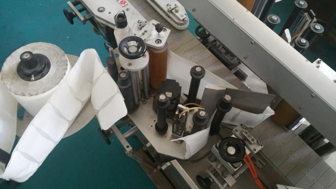 Aplicatoare de autocolante pentru saci și sticle ovale, mașină de imprimat etichete autoadezive cu transportor lung