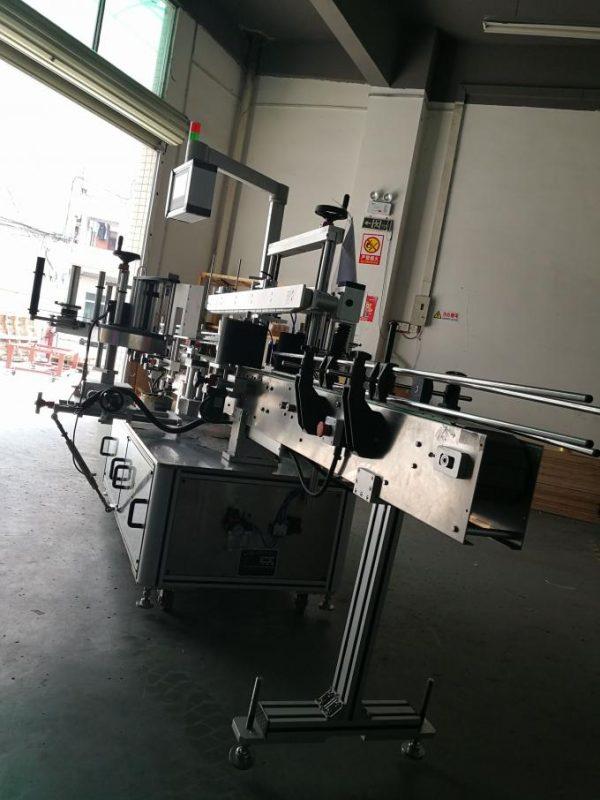 Mașină automată de etichetare a autocolantelor, mașină aplicatoare de etichete ovale pentru sticle
