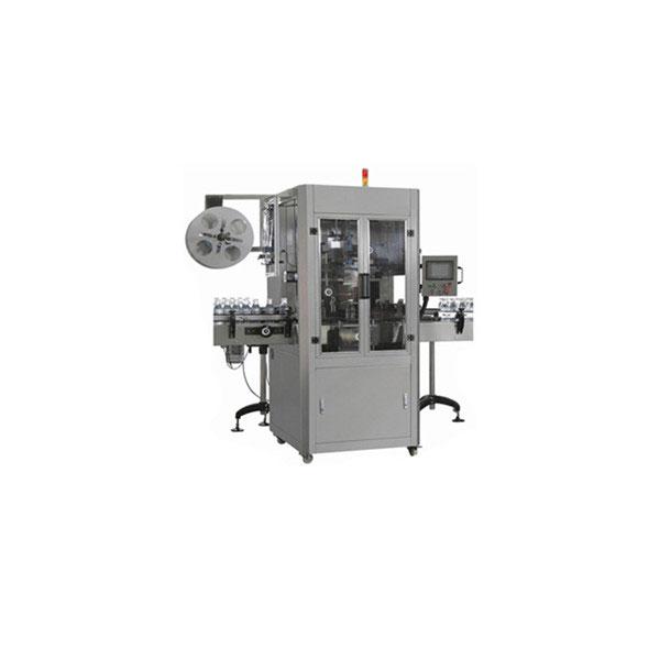 Mașină aplicatoare cu manșon retractabil pentru sticle de apă de 5 galoane pentru sticlă mare rotundă