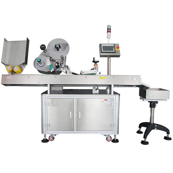 Mașină de etichetare a flaconului pentru sticlă farmaceutică automată cu economie minimă de 60-500 buc