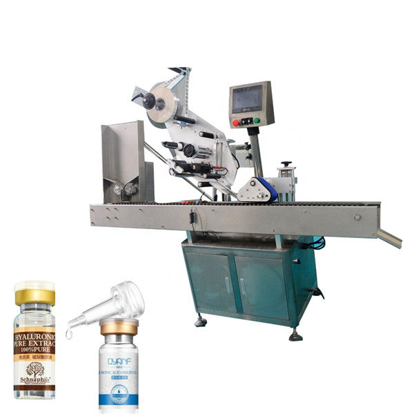 Mașină de etichetare industrială din aliaj de aluminiu pentru fiole rotunde