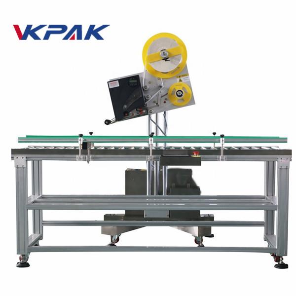 Aplicator de etichetă industrială pentru plicuri automate pentru cutie de hârtie de producție la scară mică