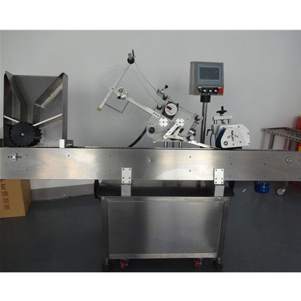 Mașină automată de etichetare a flaconului pentru sticlă rotundă pentru ambalarea animalelor de companie