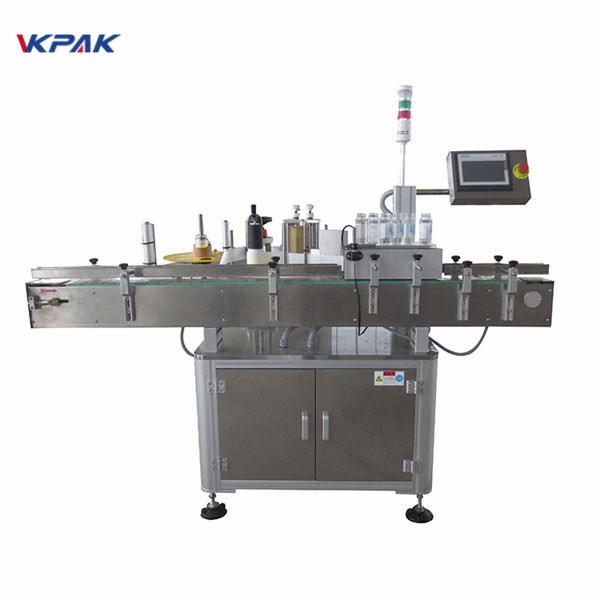 Mașină automată de aplicare a etichetei de autocolante pentru sticla de bere 220V 1.5H
