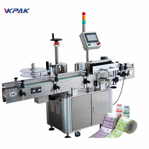 Mașină aplicatoare de etichete pentru aprobarea CE pentru etichetarea sticlei rotunde