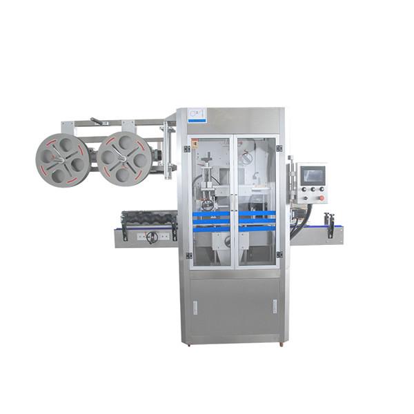 Capac de etanșare a mașinii de aplicare a manșonului din oțel inoxidabil cu generator de abur