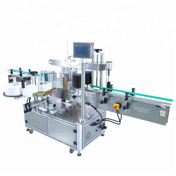 Mașină aplicatoare automate de etichete personalizate pentru sticla rotundă de detergent