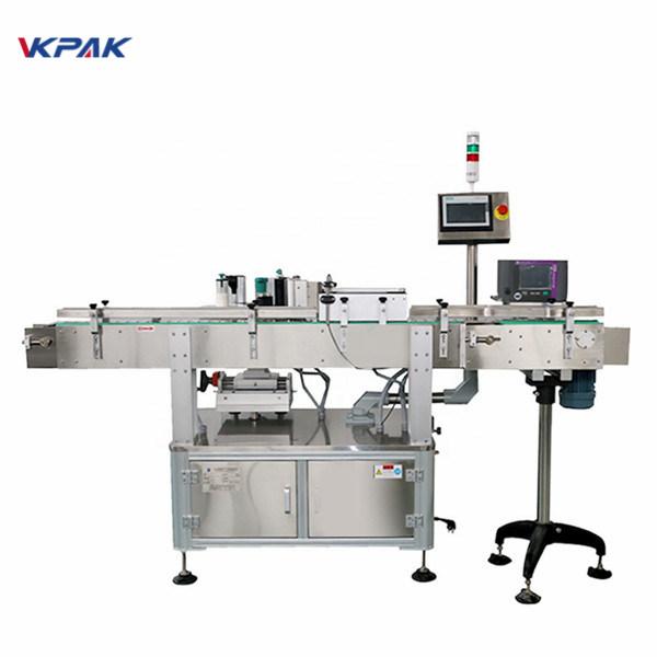 Mașină completă de aplicare automată a etichetelor cu funcție de poziție fixă