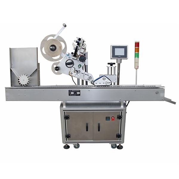 Mașină de etichetare cu autocolant pentru flacoane de înaltă precizie pentru industria farmaceutică