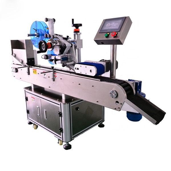 Mașină de etichetare orizontală cu sticlă mică de 10 ml, control inteligent, automată