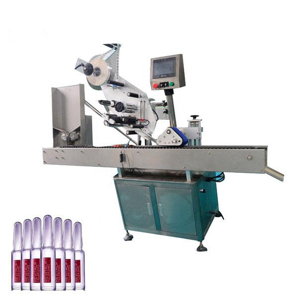 Mașină automată de etichetare a flacoanelor cu control inteligent Sus304 Economy