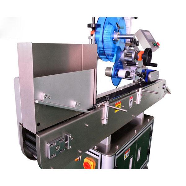Mașină de etichetare a autocolantului pentru flacoane din oțel inoxidabil pentru fiole