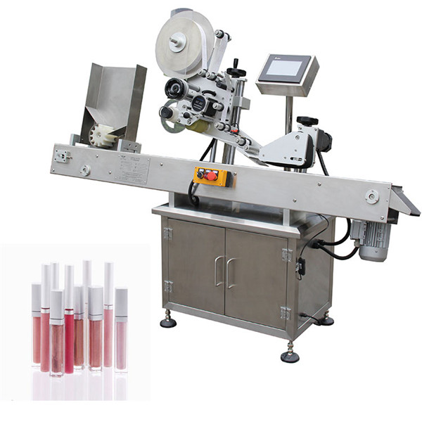 Mașină de etichetare a flaconului rotund pentru flacoane pentru industria medicală