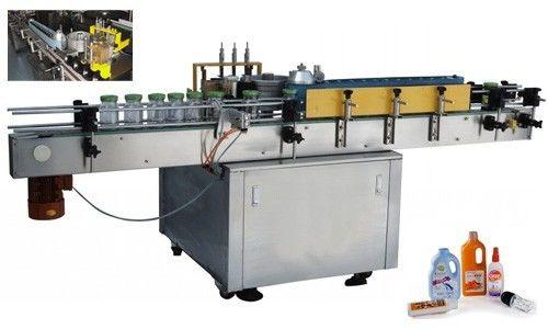 China Mașină automată de aplicare a etichetei lipiciului rece pentru sticla rotundă personalizat furnizor