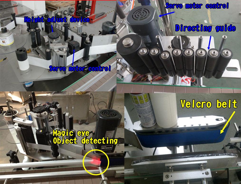 Autocolant pentru sticlă cosmetică Etichetă rotundă pentru sticlă / Mașină de etichetare autoadezivă