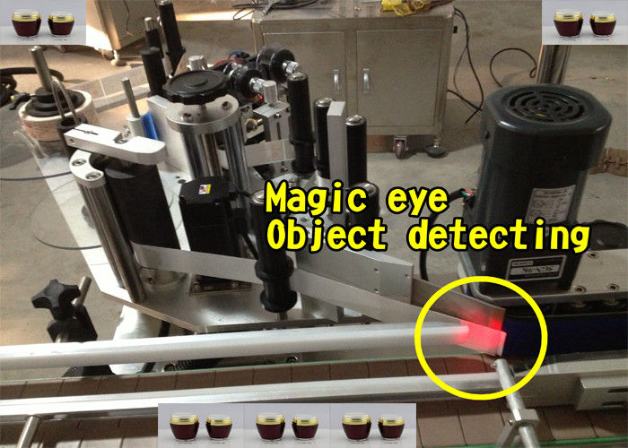 Mașină aplicatoare automate de etichete pentru sticle de miere