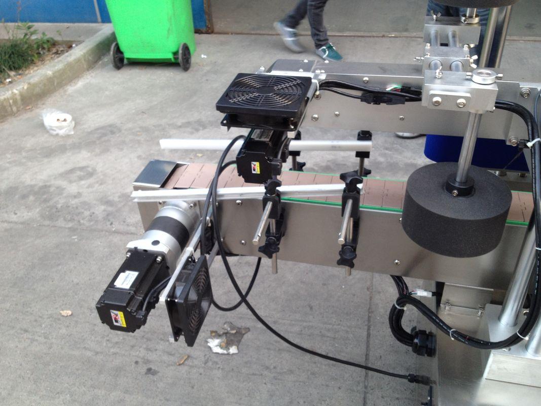 Mașină aplicatoare de etichete de lipici pentru topire rece / umedă pentru sticlă rotundă