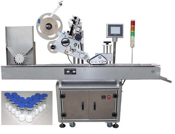 Mașină de etichetat sticle mici de 10 ml pentru produse farmaceutice