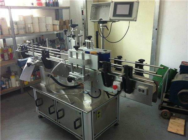 Mașină de etichetat autocolant cu sticlă rotundă de suc de fructe / legume pentru industria băuturilor