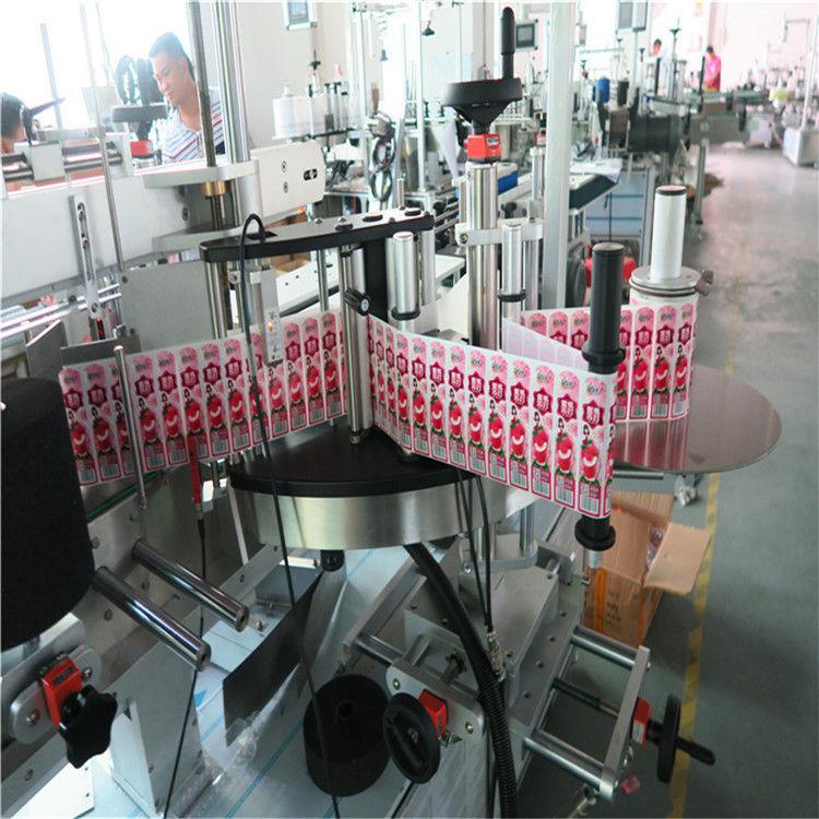Aplicator de etichetă pentru autocolant pentru partea din spate și înfășurarea sticlei de etichete