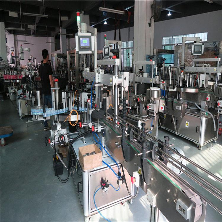 China Mașină de etichetare a sticlelor de plastic, Mașină de etichetare a sticlei de apă minerală furnizor