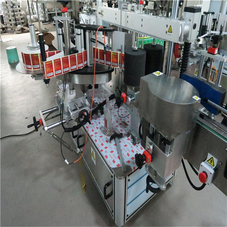 China Mașină automată de etichetare a autocolantelor, mașină de etichetare automată pentru Bevarage / Băuturi furnizor