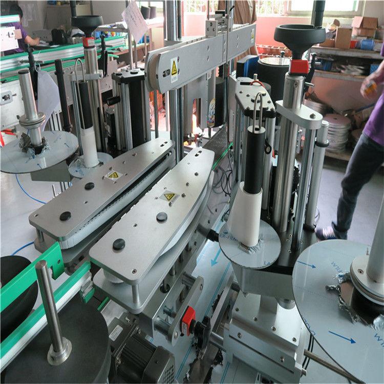 China Mașină completă de etichetare automată a autocolantului, mașină de etichetare față și spate a sticlei de apă