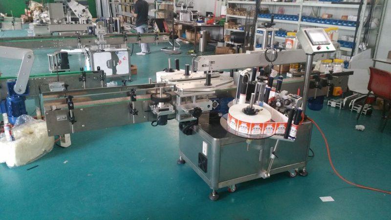 China Mașină automată de etichetare cu etichetă dublă pentru etichete automate pentru sticle pentru pungi în picioare furnizor