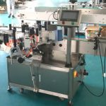 Mașină aplicatoare de etichete față și spate cu mecanism de corectare