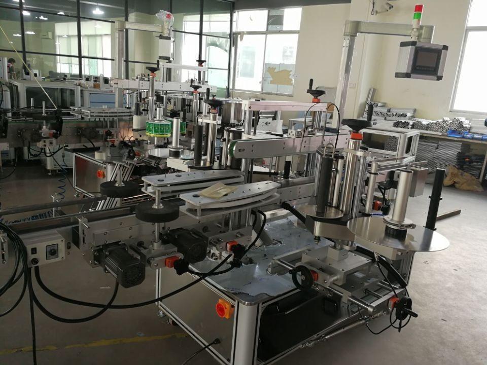 Sistem de etichetare cu colț de etanșare de mare viteză pentru cutii farmaceutice