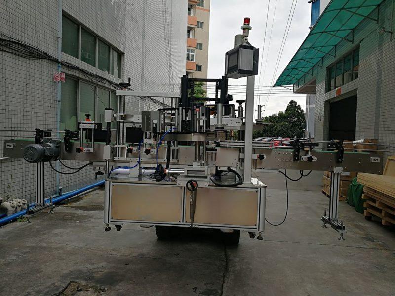 China Aplicator automat de etichetare automată cu etichetă dublă laterală pentru furnizorul de borcan din plastic