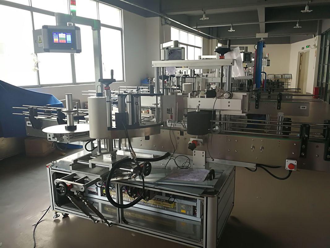 Mașină de etichetare a sticlei plate, mașină automată de aplicare a etichetelor