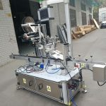 Mașină de etichetare superioară a autocolantului pentru tipul de acționare electrică pentru pungă pentru duză