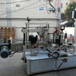 Mașină de etichetare a sticlei cilindrice / ovale autoadezive cu ecran tactil PLC