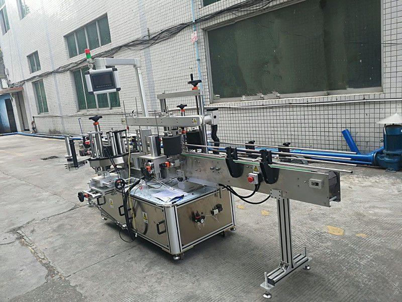 China Mașină de etichetare a sticlei cu dublă față autocolant autoadeziv furnizor complet automat