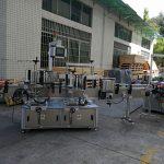 Mașină de etichetat autocolant pentru sticlă plată / pătrată Capacitate completă automată 5000-8000B / H
